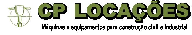 Máquinas e equipamentos para construção civil e industrial - CP Locações